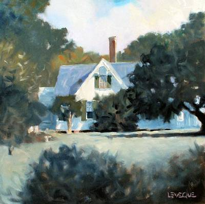 Painting - Side Yard by Kevin Lawrence Leveque