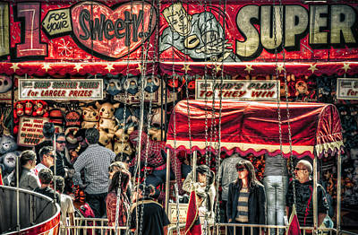 Photograph - Sideshow Alley by Wayne Sherriff
