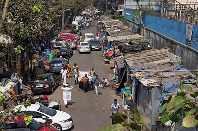 Shack Photograph - Sidestreet In Mumbai by Mark Williamson