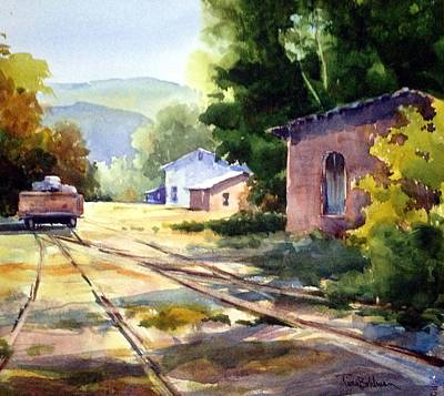 Painting - Sidetracked  by Tina Bohlman