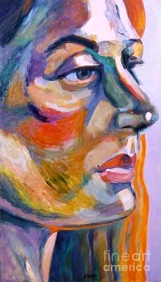 Painting - Sideview Of A Woman by Stan Esson