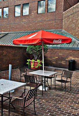 Photograph - Sidewalk Cafe by John Black