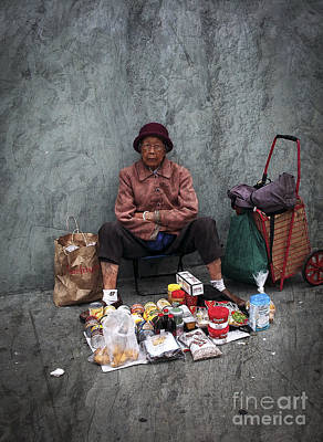 Photograph - Sidewalk Grocery by Derek Selander