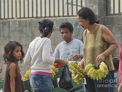Photograph - Sidewalk Market In Timor-leste by Dan Suzio
