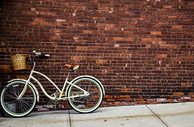 Photograph - Sidewalk Parking by Karol Livote