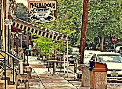 Photograph - Sidewalk Stop by Tami Quigley
