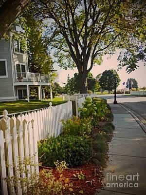 Photograph - Sidewalk Stroll by Desiree Paquette