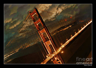 Photograph - Sideways Golden Gate by Blake Richards