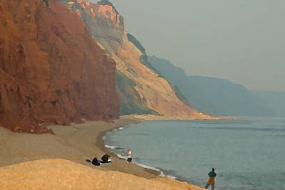 Photograph - Sidmouth Beach by Jenny Setchell