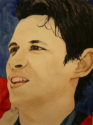 Painting - Sidney Crosby by Betty-Anne McDonald