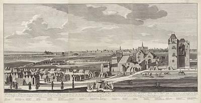 Alvarez Drawing - Siege Of Haarlem, 1572-1573, The Netherlands by Hendrik Spilman And Anonymous And Bernardus Kleynhens