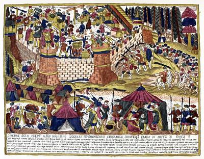 Siege Of Kiev, 10th Century Art Print by Granger