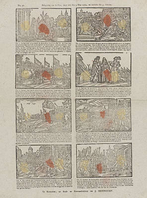 Siege Of Leiden The Netherlands Started The Fifth Mey 1574 Art Print