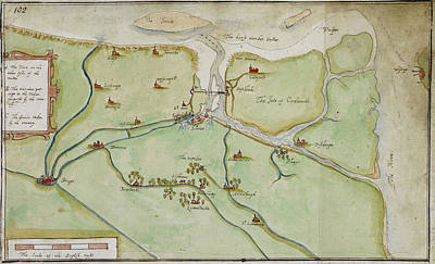 Cartography Photograph - Siege Of Sluys by British Library