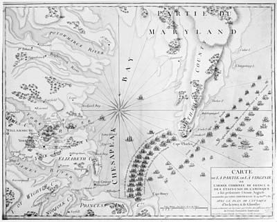 Siege Of Yorktown, 1781 Art Print by Granger