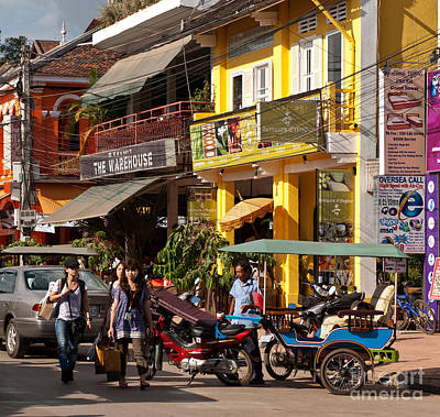 Tuk Tuk Photograph - Siem Reap 03 by Rick Piper Photography