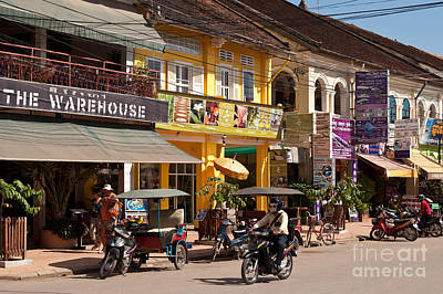 Tuk Tuk Photograph - Siem Reap 04 by Rick Piper Photography