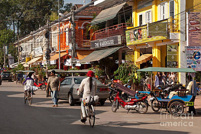 Tuk Tuk Photograph - Siem Reap 05 by Rick Piper Photography