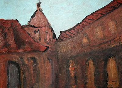 Painting - Siena by Oscar Penalber