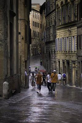 Photograph - Siena Rain by Curtis Dale