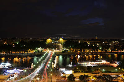 Photograph - Seine River From The Eiffel Tower by Toby McGuire