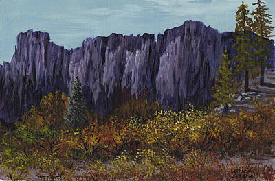 Painting - Sierra Buttes by Darice Machel McGuire