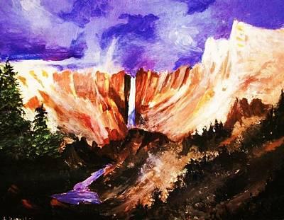 Sierra Cascade Art Print