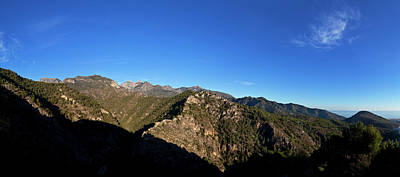 A Summer Evening Photograph - Sierra De Enmedia Mountains,north East by Panoramic Images