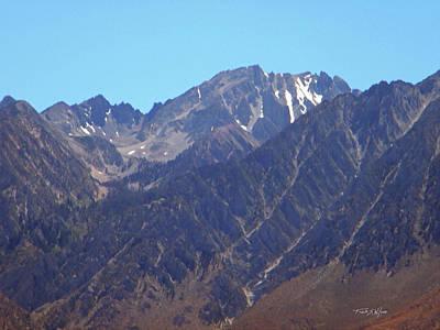 Photograph - Sierra Erosion by Frank Wilson