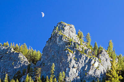 Photograph - Sierra Moonrise by Nicholas Blackwell