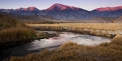 Owens River Photograph - Sierra Morning by Andrew Soundarajan