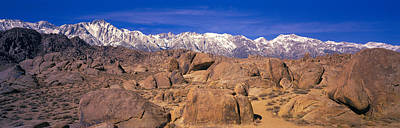 Owens Valley Photograph - Sierra Mountains, Owens Valley by Panoramic Images