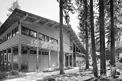 Sierra Nevada College - Prim Library Art Print by University Icons