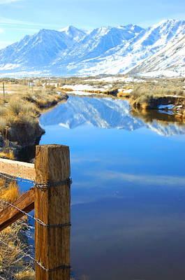 Photograph - Sierra Nevada Reflection by Tamyra Crossley