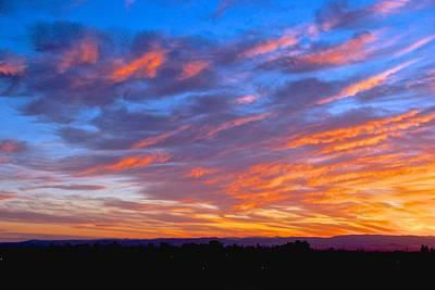 Photograph - Sierra Nevada Sunrise by Eric Tressler