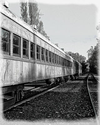 Photograph - Sierra Railway On The Tracks by William Havle