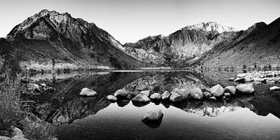 Convict Lake Photograph - Sierra Reflections by Andrew Soundarajan