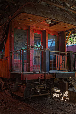 Photograph - Sierra Rr Passenger Car by Thomas Hall