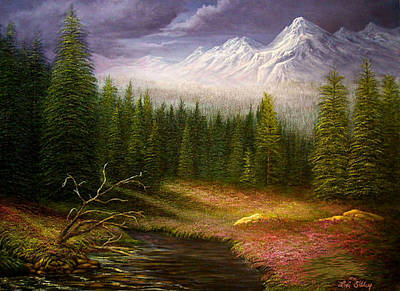 Painting - Sierra Spring Storm by Loxi Sibley