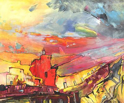 Sierra Sunset Print by Miki De Goodaboom