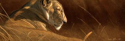 Lion Wall Art - Digital Art - Siesta by Aaron Blaise