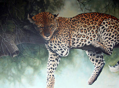 Eric Shepherd Painting - Siesta by Eric Shepherd