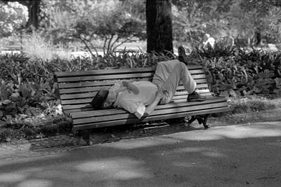 Photograph - Siesta In The Park by Luis Esteves