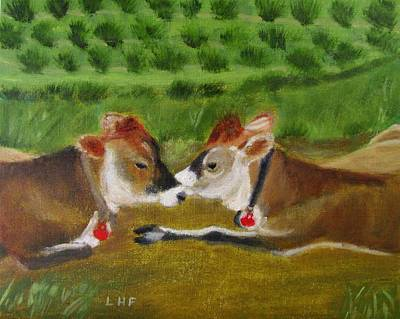 Painting - Siesta Time by Linda Feinberg