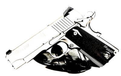 Soldiers Photograph - Sig Sauer 1911 by VRL Art