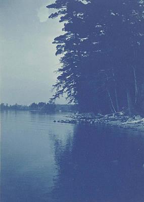 Sight Drawing - Sight Over A Lake, Anonymous by Artokoloro
