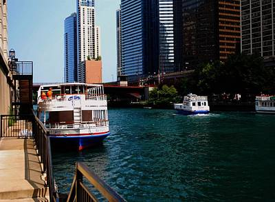 Photograph - Sightseeing Boat by Gary Wonning