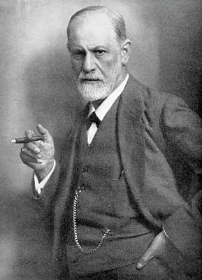 Freud Photograph - Sigmund Freud by Universal History Archive/uig