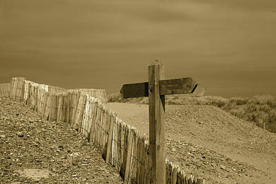 Photograph - Sign Post To Nowhere 2 by Christopher Rowlands