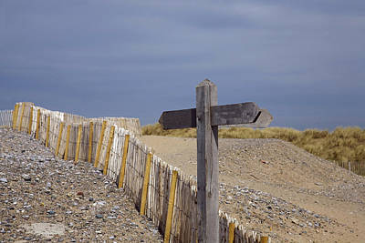 Photograph - Sign Post To Nowhere by Christopher Rowlands